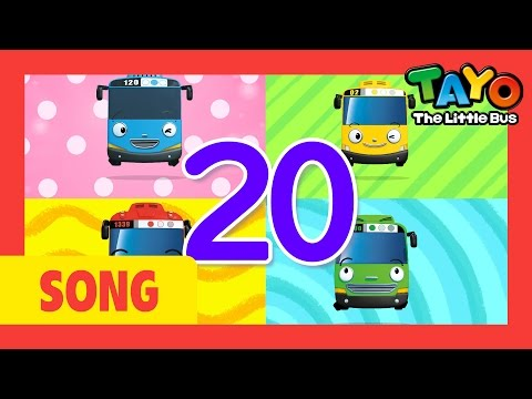 Tayo song One Two Buckle My Shoe l Nursery Rhymes l Tayo the Little Bus