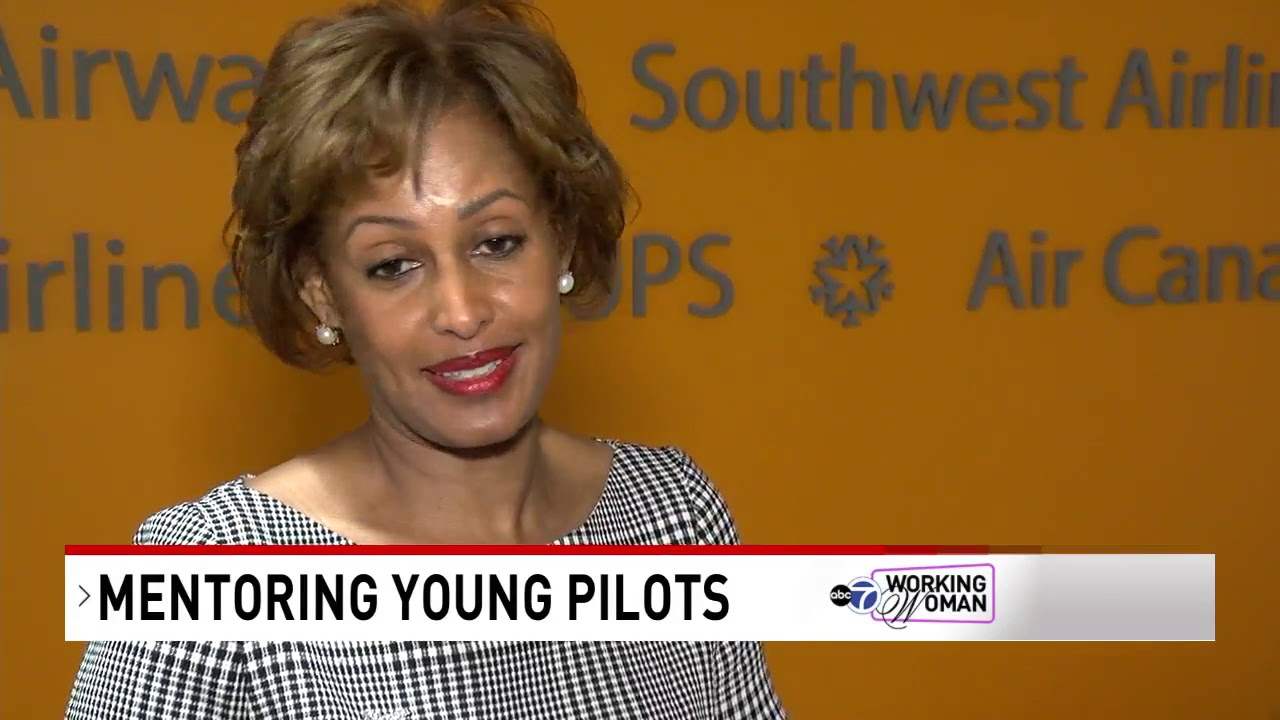 Pioneering pilot Sophie Ghezai, now safety director for major airlines
