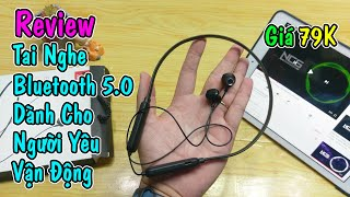 Mở Hộp Tai Nghe Thể Thao Bluetooth 5.0 dành cho người yêu vận động