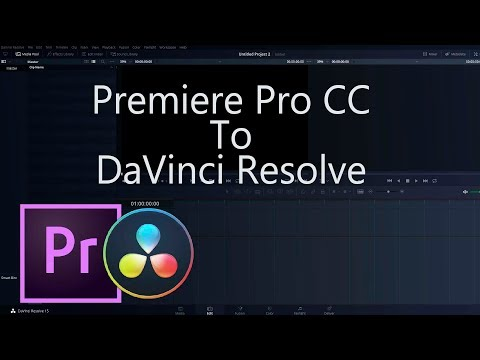 Premiere to Resolve - How To Transfer Premiere Sequences Into DaVinci Resolve