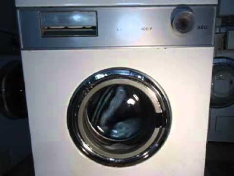 aeg lavamat 400 f waschmaschine youtube