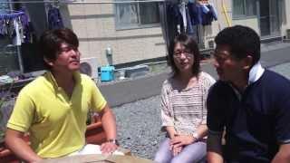 H25-6-23 立花英樹@宮古市「花輪橋仮設住宅」インタビュー!