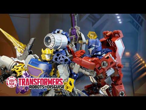 Transformers: Construct-Bots - Optimus Prime & Bumblebee Building Fail