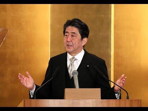 安倍内閣総理大臣年頭記者会見-平成30年1月4日