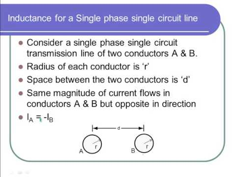 Electric Transmission Line Parameters 3 - Inductance Calculation