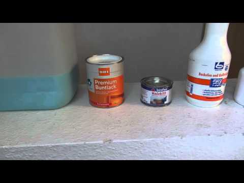 alte Küche erneuern und lackieren - YouTube