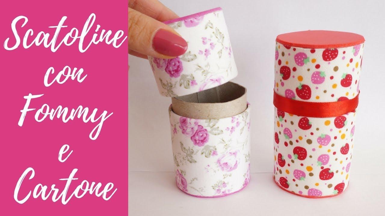 reputazione prima cerca l'autorizzazione vendite all'ingrosso Tutorial: Scatole con Fommy e Cartone (SUB ENGS - DIY little box with fommy  and toilet paper roll)