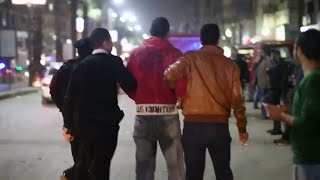 لحظة القبض على المتهم بتفجير قنبلة فيصل (اتفرج)