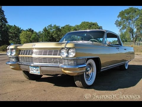 1964 Cadillac Fleetwood for Sale: Original Gold Series 60 Cadillac
