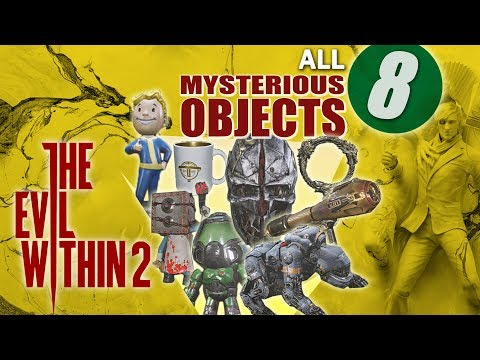 The Evil Within 2 | All 8 Mysterious Object Locations (All in the Family Collectible Toys)