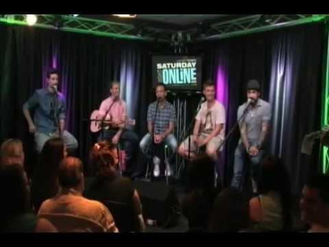 2013-06-24 - Backstreet Boys  Boybands guessing game  at Q102 Philadelphia