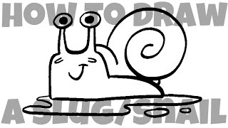 How to Draw a Slug/Snail