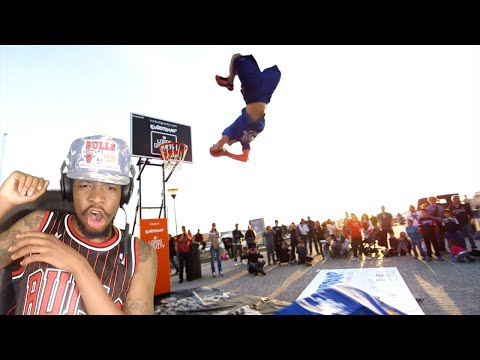 THIS IS INSANE! WORLD'S BEST FREESTYLE DUNKS REACTION!!