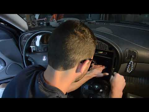 Saab 9-5 Dash Removal & Cupholder Replacement