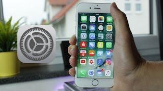 iOS 10 Geheime Must-Have Einstellungen!
