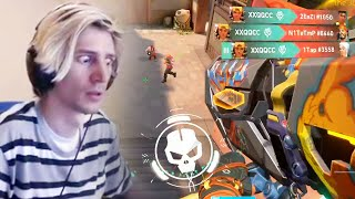 XQC Already Best Player in VALORANT