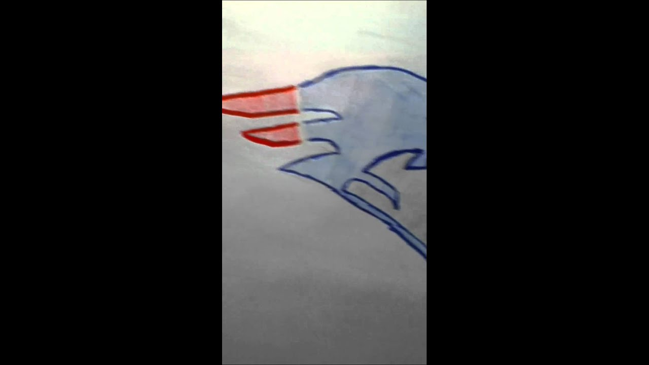 patriots logo drawing youtube how to draw the new england patriots logo step by step how to draw the new england patriots symbol