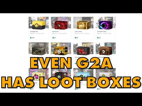 G2A And Loot Boxes: Together At Last!