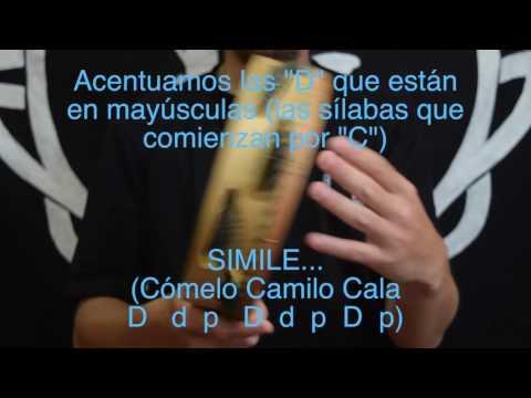 Clases de Pandereta Gallega: Ritmo Básico de Rumba (Amuiñeirada)