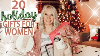20 Gifts For Women **husbands Watch This Video** / Holiday Gift Guide 2018