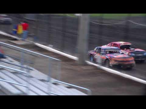 Stock Car Amain @ Hancock County Speedway 08/18/17
