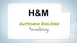 H&M Gutschein einlösen - Anleitung in 3 einfachen Schritten
