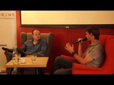 Michal Mesko (Martinus) at Startup Grind Slovakia