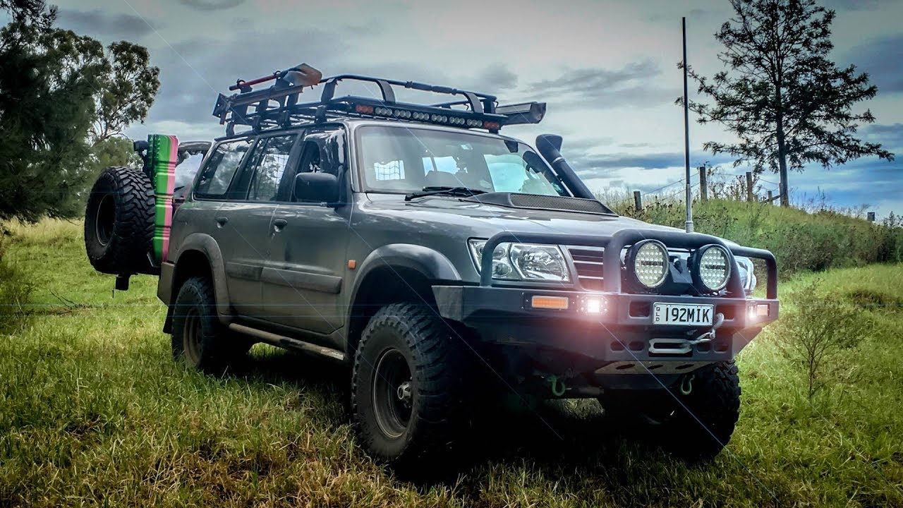 Nissan Pathfinder Overland >> 2002 Nissan Patrol Rig Walk Around Youtube