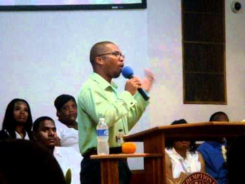"Pt.1 - ""Pushing The Vision - Get In Position"" - Elder Davis Williams"