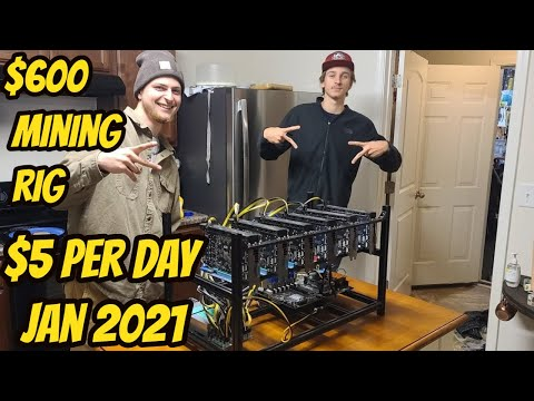 $600 Mining Rig Makes $5 Per Day 2021