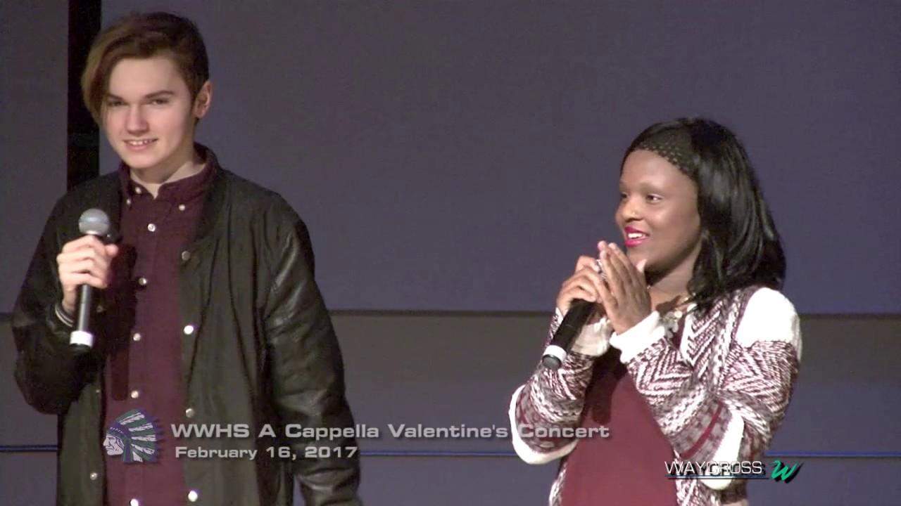 Winton Woods High School A Cappella Valentineu0027s Concert: February 16, 2017