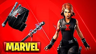 CHALLENGES AND GET THE NEW MARVEL SKIN THE BLACK WIDOW TREATMENT IN FORTNITE (THE AVENGERS)