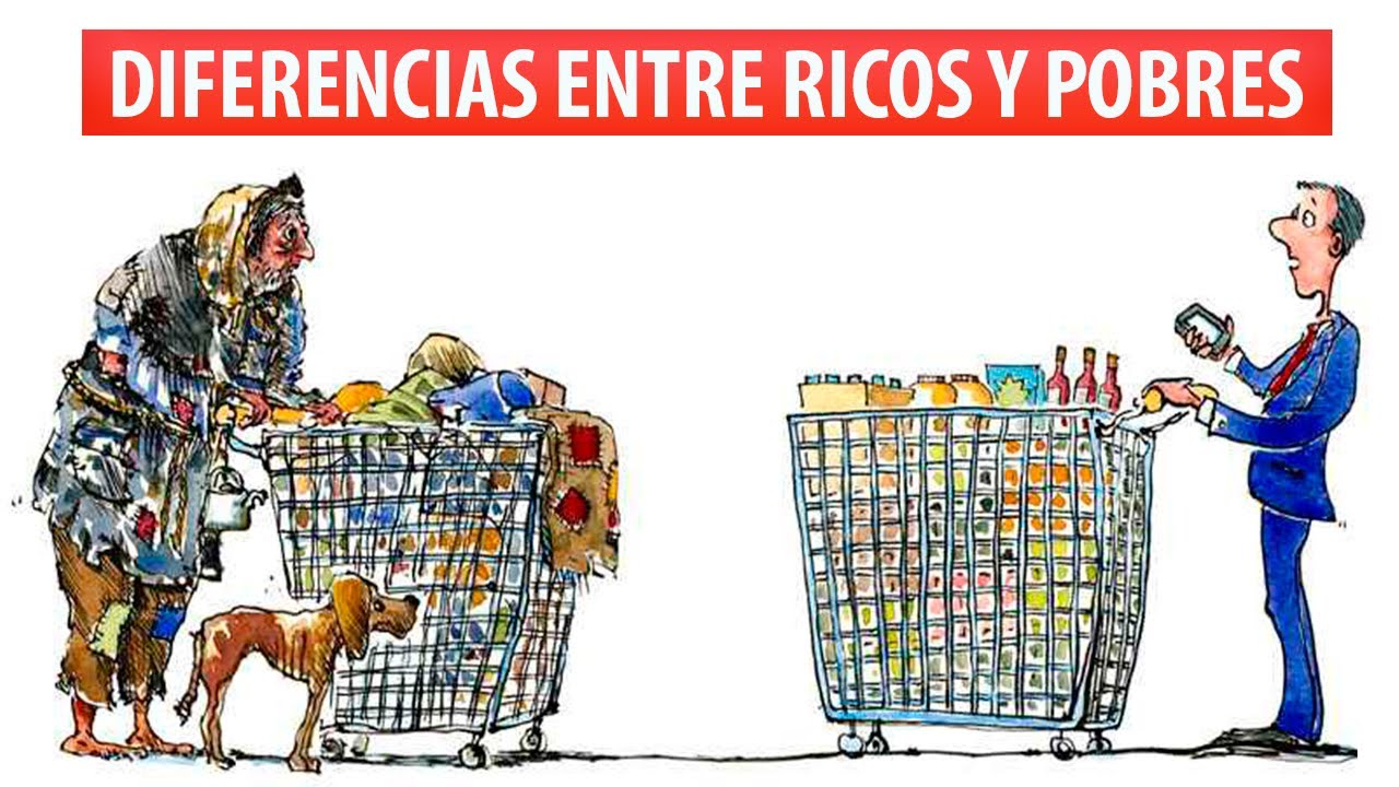Diferencias entre Ricos y Pobres que DEBES Tener en Cuenta para Cambiar tu Patrón Financiero