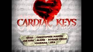 Cardiac Keys Riddim Mix 2013-Dj Remix / Jah Cure,Voicemail, Chris Martin , Cecile, Alaine