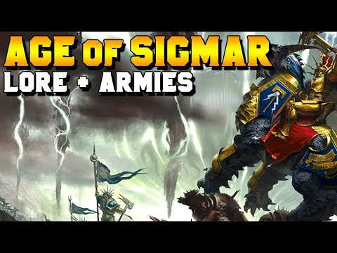 Age of Sigmar: Getting Started with the Lore + Armies