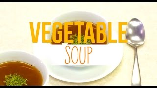 Healthy & Wholesome 15 Minute Vegetable Soup