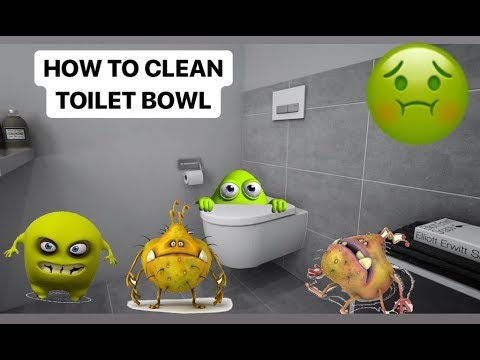 Best and Easiest Way to Clean The Toilet Bowl | Removing Water Stains