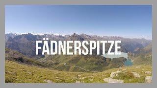 Wanderung: Kops Zeinisjoch - Fädnerspitze - Friedrichshafener Hütte | GPS-Track
