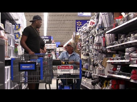 WALMART SECURITY KICKED ME OUT!