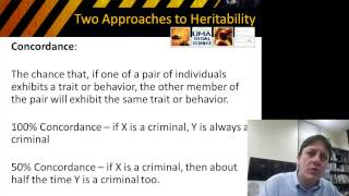 Biology and Crime: Twin and Adoption Studies