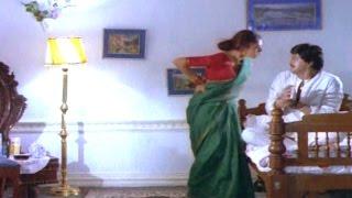 Alludugaru Movie || Shobana Revenge on Mohan Babu Comedy Scene || Mohan Babu, Shobana