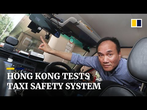 Hong Kong Taxi Council tests new safety system in a bid to fight soaring insurance costs