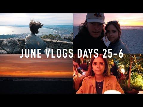 JUNE VLOGS DAYS 25 + 26: Cape Town | sunbeamsjess