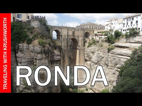 Travel to Ronda Spain from Seville guide video (tourism) | Things to do