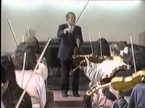 VIOLIN Dr. Shinichi Suzuki,method documentary 鈴木鎮一鈴木メソードドキュメントPART1