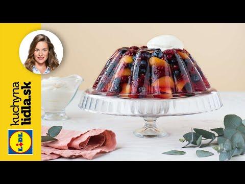 Bazové želé s ovocím a vínom 🍮 | Veronika Bušová  | Kuchyna Lidla