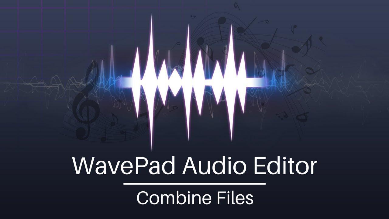 WavePad Audio Editor Tutorial | Combine Audio Files