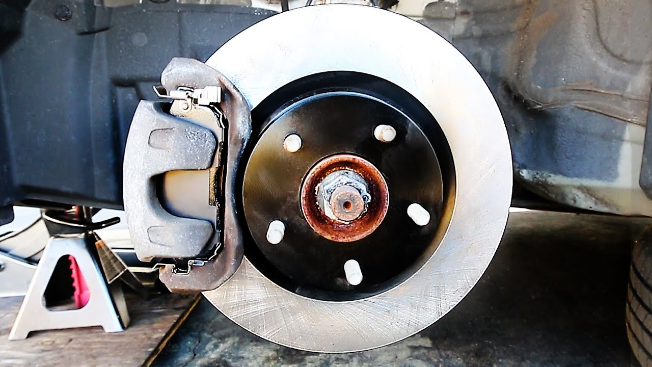 medium resolution of how to change front and rear brake pads and rotors complete guide