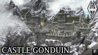 CASTLE GONDUIN: Castle Player Home!!- Xbox Modded Skyrim Mod Showcase