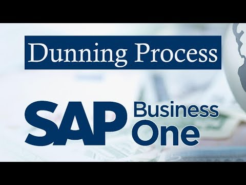 SAP BUSINESS ONE   Dunning Process in SAP B1   Levels of Dunning Letters